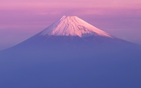 Обои пейзаж, гора, Япония