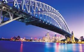 Обои sydney, австралия, bridge