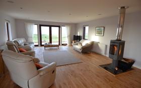 Обои дизайн, вилла, жилая комната, дом, интерьер, гостиная, стиль