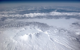 Картинка nature, snow, cloud