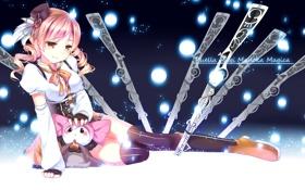 Картинка Art, Mahou Shoujo Madoka Magica, Tomoe Mami, Charlotte, Gendo0032