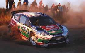 Обои Ford, Люди, Поворот, Форд, WRC, Rally, Ралли