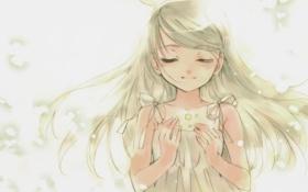 Картинка рисунок, девочка, звездочки, dee, kuramoto kaya, little stars on the earth