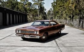 Обои купе, 1969, Coupe, Plymouth, плимут, 426, Hemi