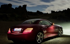 Картинка Mercedes-Benz, AMG, Sports Package, SLK350