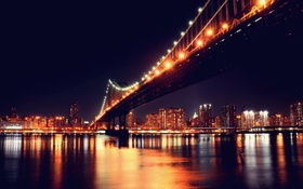 Картинка New York, Manhattan, Manhattan Bridge