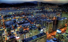 Обои city, город, башни, buildings, сеул, корея, южная
