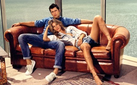 Обои 2016, Spring, Colcci, Summer, Sean O'Pry, Gisele Bundchen, Campaign