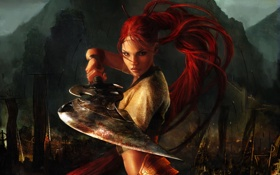 Картинка Heavenly Sword, PS3, Нарико, Небесный Меч