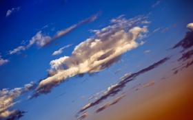 Обои небо, природа, облако