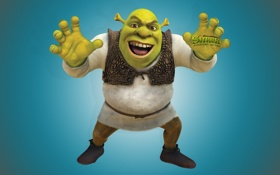 Картинка мультфильм, Shrek Forever After, Шрек, Шрэк навсегда