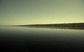 Картинка поле, берег, Река, простор, Россия