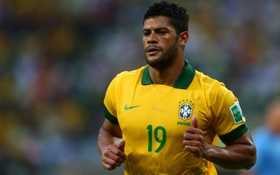 Обои Nike, Brasil, FC Zenit St.Pt., Hulk, Brazil, Халк, Football