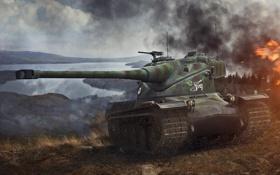 Картинка Франция, танк, танки, France, WoT, Мир танков, tank