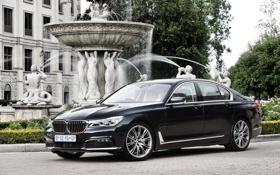 Обои седан, бмв, 7-Series, G11, BMW