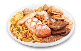 Картинка хлеб, хворост, сушки, макароны, картофель, тмин, паста