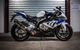 Обои bmw, бмв, мотоцикл, white, вид сбоку, bike, ролеты