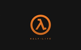 Картинка Халф-Лайф, Lambda, Game, Half-Life, Логотип, Valve, Logo