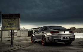 Обои BMW, Car, Prior Design, Rear, Nutek, Forged Wheels