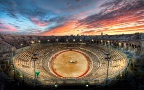Картинка италия, рим, Roman, Gladiator Arena at Sunset