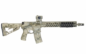 Обои оружие, фон, штурмовая винтовка