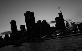 Картинка небоскребы, Чикаго, USA, америка, Chicago, сша, мегаполис