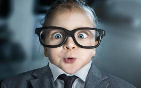 Картинка очки, гримаса, ребенок, удивление, прикол, John Wilhelm, photographer