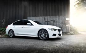Картинка BMW, БМВ, white, F30, 330d