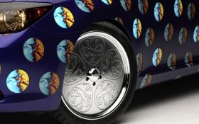 Обои тойота, Scion, авто фото, тачки, авто обои, cars, Toyota