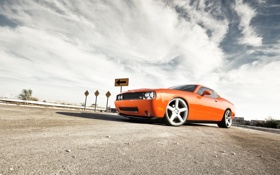 Обои тачки, додж, cars, dodge, challenger, auto wallpapers, авто обои