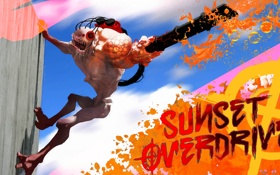 Картинка мутант, TPS, Sunset Overdrive, Insomniac Games