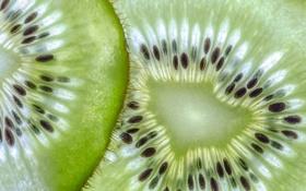 Обои еда, текстура, киви, фрукты