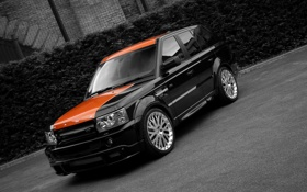 Обои чёрный, black, Sport, Rover, рендж ровер, Range, Project