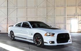 Обои Dodge, SRT8, автомобиль, додж, Charger, чарджер