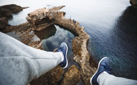 Обои photgraphy, ноги, скалы, фотограф, Артём Никифоров, photographer, Artem Nikiforov