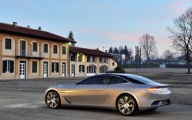 Обои Concept, небо, дом, концепт, вид сзади, Pininfarina, Cambiano