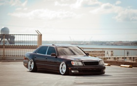 Обои sedan, лексус, седан, lexus, stance, hawaii