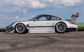 Обои Небо, Авто, 911, Porsche, Серый, Порше, Спорткар