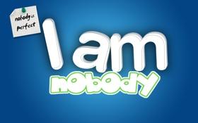 Обои надпись, листок, идеал, бумажка, никто не идеален, nobody is perfect