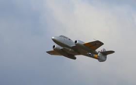 Обои небо, истребитель, реактивный, Gloster Meteor