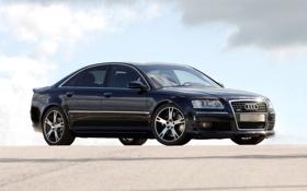 Обои Audi, тюнинг, Ауди, Машина, Car, Чёрная, Тачка