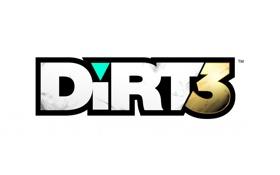 Обои надпись, игра, логотип, dirt 3