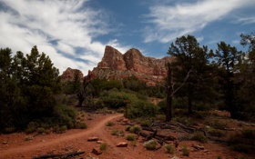 Картинка горы, природа, скала, фото, США, Arizona, Sedona