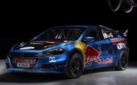 Обои ралликросс, rallycross, rally, dart, red bull, 2012, Trevis Pastrana