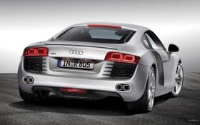 Обои машина, Audi, R8?подиум