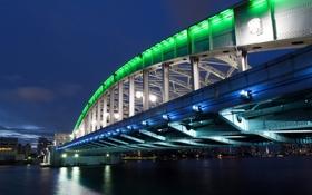 Картинка мост, река, Токио, Harumi Dori Bridge