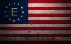 Обои Флаг, США, Fallout, Fallout 3, Анклав