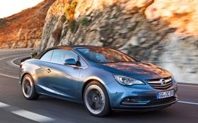 Обои car, Opel, road, speed, опель, Cascada