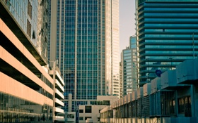 Картинка New Zealand, Auckland, buildings, Hi-Tech, city, lines, geometry