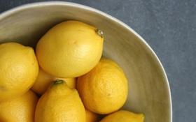 Картинка lemon, yellow, fruit